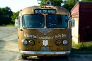 Antique Photo Originals - Lone Star Bus 4 by John Gusky