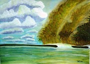 Tropical Island Originals - Lone Wave by Ray Ratzlaff