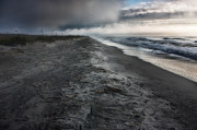 Matthew Trimble Acrylic Prints - Lonely Beach Acrylic Print by Matt  Trimble