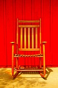 Folk Art Photos - Lonely Rocker by Tessa Murphy