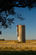 Arkansas Prints - Lonely Silo 2 Print by Douglas Barnett