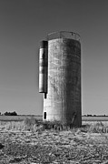 Arkansas Framed Prints - Lonely Silo 6 Framed Print by Douglas Barnett
