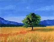 Wheatfields Originals - Lonely Tree by Susan Odom