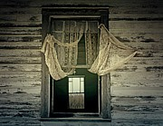 Haunted Barn Posters - Lonely Wind Poster by Jerry Cordeiro