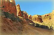 Long Canyon 1 Print by Marty Koch