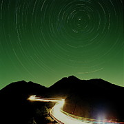 Light Trail Prints - Long Exposure Print by Angus Chen