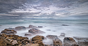Horizon Metal Prints - Long Exposure To Rockscape Metal Print by © Yannick Lefevre - Photography