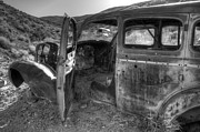 Abandoned Cars Prints - Long Forgotten Print by Bob Christopher