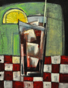 Bistro Paintings - Long Island Iced Tea by Tim Nyberg