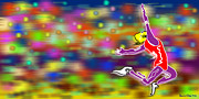 Stock Photo Digital Art - Long Jumper by Daniel Chui