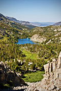 Mammoth Lakes Art - Long Lake by Chris Brannen