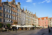 Residential Prints - Long Market in Gdansk Print by Artur Bogacki