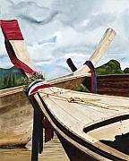 Mary Rogers - Long tail boats of Krabi