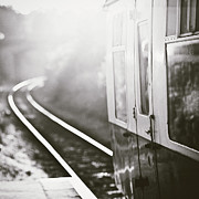 Train Station Photos - Long Train Running by James Homer