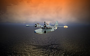 Naval Aviation Posters - Long Trip Home Poster by Mike Ray