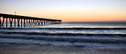 Topsail Island Photos - Long View by JC Findley