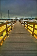 Sail Fish Prints - Long Walk  Short Pier Print by Van Schipper