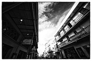 Long Street Prints - Long Way Down Bourbon Street Print by John Rizzuto