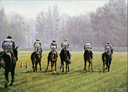 Jockey Paintings - Longchamp by Thomas Allen Pauly