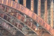 Salt And Pepper Art - Longfellow Bridge Arches III by Clarence Holmes