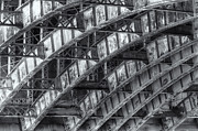 Pepper And Salt Art - Longfellow Bridge Arches IV by Clarence Holmes