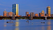 Buildings At Sunset Prints - Longfellow Bridge Print by Joann Vitali