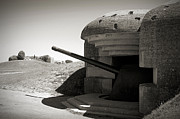 Bunker Prints - Longues-sur-Mer German battery Print by RicardMN Photography