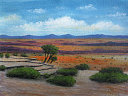 Desert View Paintings - Longview by Gordon Beck