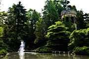 Garden - Longwood Garden Castle by Bill Cannon