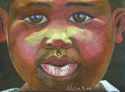 African Child Originals - look Africa in the eyes by Elena Malec