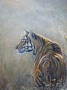 Wildlife Sculpture Prints - Look Out Print by Todd  Gates