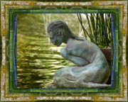 Contemplative Metal Prints - Looking In Metal Print by Bell And Todd