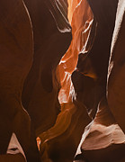 American West Prints - Looking into the Canyon Print by Andrew Soundarajan