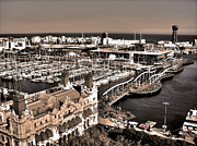 Port Town Framed Prints - Looking South ... Framed Print by Juergen Weiss