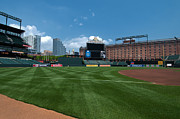 Oriole Park Prints - Looking Towards Center Print by Paul Mangold