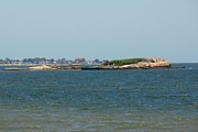 Saybrook Prints - Looking Towards Saybrook Print by Meandering Photography