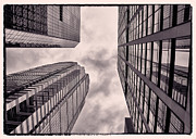 Philadelphia Photo Prints - Looking Up In Philadelphia 3 Print by Jack Paolini