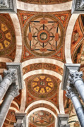 Library Of Congress Photos - Looking Up by Janet Fikar
