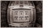 Ceiling Posters - Looking up Poster by Joan Carroll