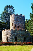 Architeture Prints - Lookout Tower Print by Bruce Bley