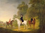 Breeches Photos - Lord Bulkeley and his Harriers by Francis Sartorius