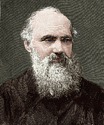 British Portraits Prints - Lord Kelvin, Scottish Physicist Print by Sheila Terry