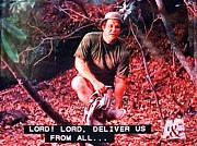 Deliverance Framed Prints - Lord Lord Deliver Us From All Framed Print by Gary Smith