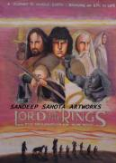Kama Sutra Paintings - Lord Of The Rings by Sandeep Kumar Sahota