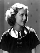 1930s Fashion Photo Prints - Loretta Young, 1930s Print by Everett