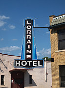 Loraine Framed Prints - Lorraine Hotel Sign Framed Print by Joshua House