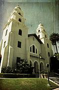 Beverly Hills Framed Prints - Los Angeles Church Framed Print by Scott Pellegrin