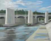 Piers Originals - Los Angeles River by Ann Dudrow