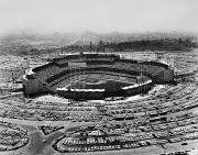 Spectator Prints - Los Angeles: Stadium, 1962 Print by Granger