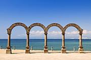 Los Arcos Amphitheater In Puerto Vallarta Print by Elena Elisseeva